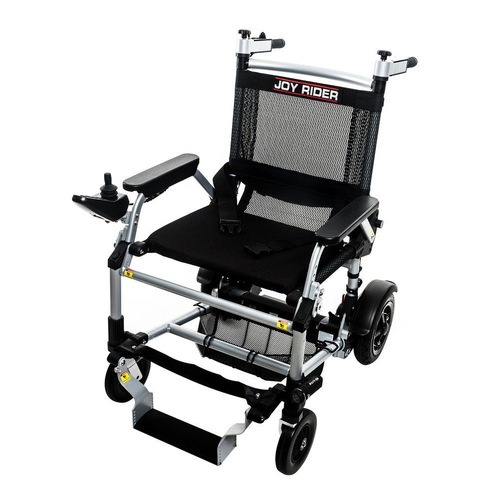 Joy Rider, fauteuil électrique avec joystick qui vous emmène partout